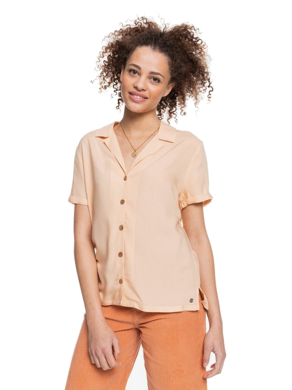 ROXY REMIND TO FORGET BLOUSE - APRICOT ICE