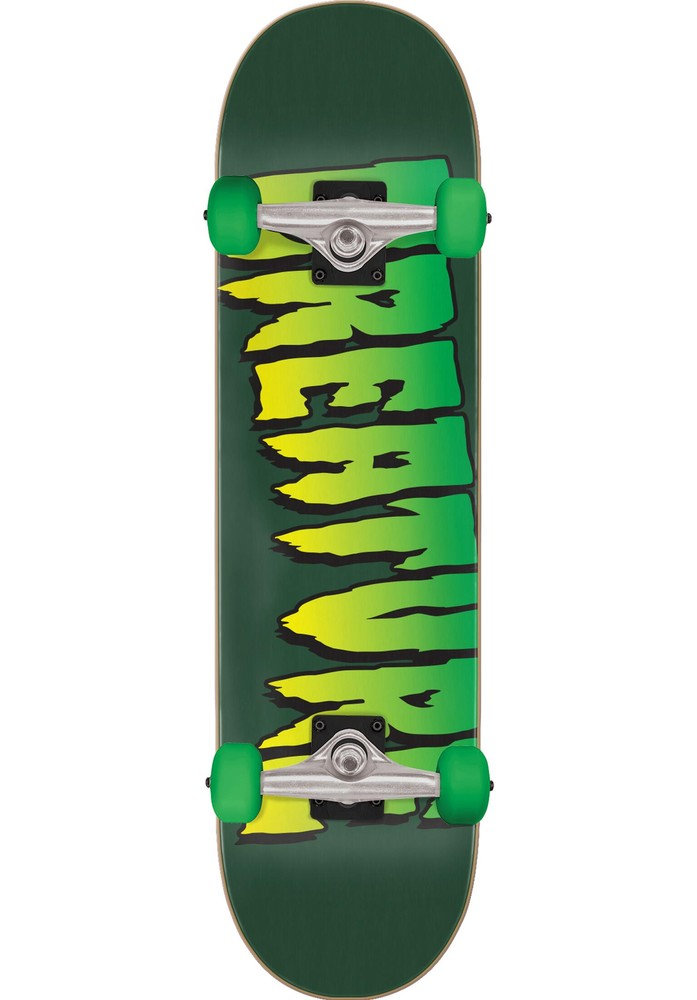 CREATURE LOGO FULL COMPLETE SKATEBOARD - 8INCH
