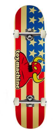 """TOY MACHINE AMERICAN MONSTER 7.75"""" SKATEBOARD COMPLETE"""