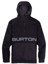 BURTON CROWN BONDED PERFORMANCE PULLOVER - TRUE BLACK