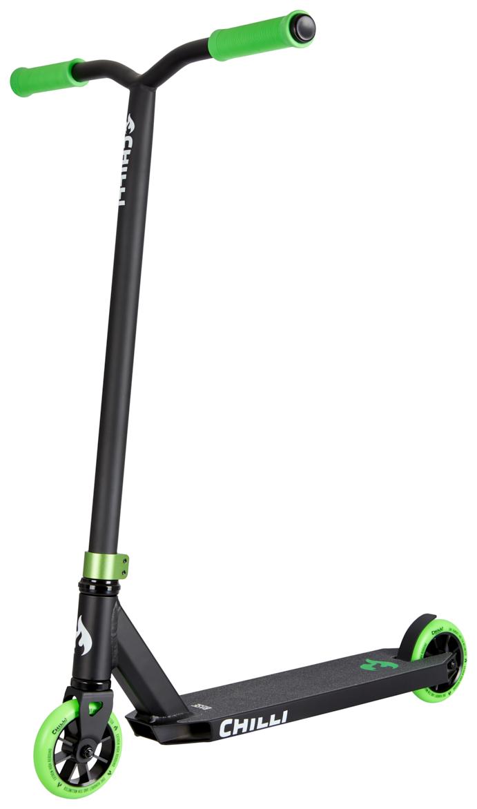 CHILLI PRO SCOOTER BASE STEP - BLACK/GREEN