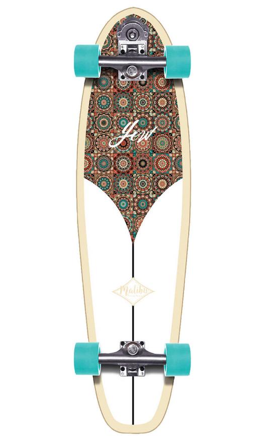 "YOW MALIBU 36"" CLASSIC SERIES SURFSKATE"