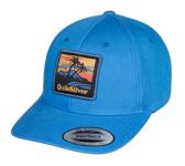 QUIKSILVER STARKNESS SNAPBACK CAP BIJOU BLUE
