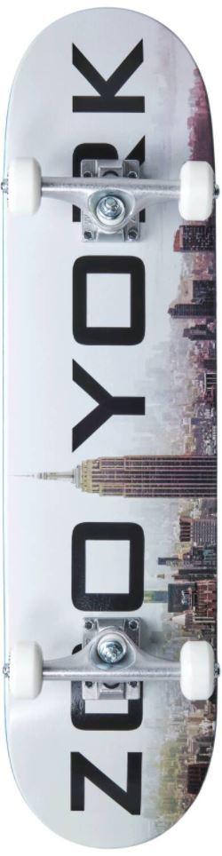 "ZOO YORK FOG  7.75"" SKATEBOARD COMPLETE"