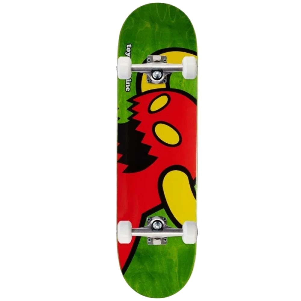 "TOY MACHINE VICE MONSTER 7.75"" SKATEBOARD COMPLETE"
