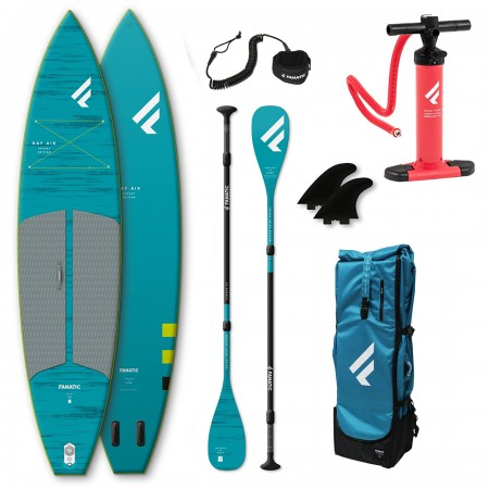 "FANATIC PACKAGE RAY AIR POCKET/C35 11'6"" SUPBOARD SET (2021)"