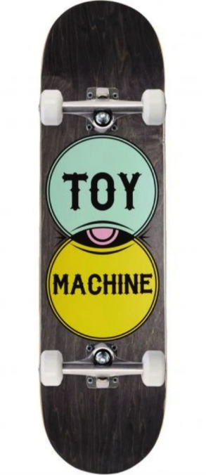 "TOY MACHINE VENDIAGRAM 7.75"" SKATEBOARD COMPLETE"