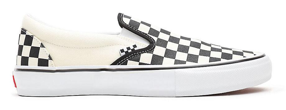 VANS SKATE CHECKERBOARD SLIP-ON SCHOENEN - BLACK/WHITE