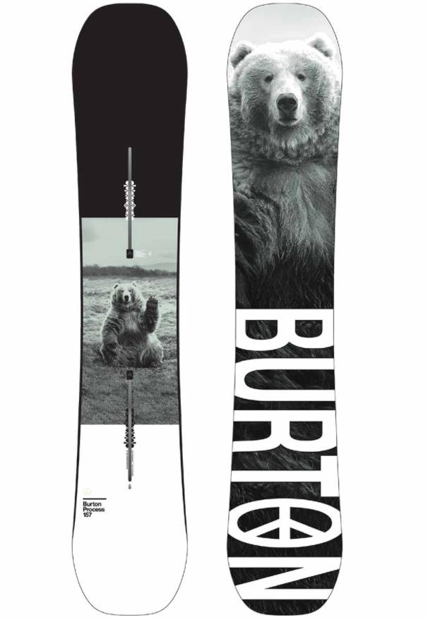 BURTON PROCESS PUREPOP CAMBER SNOWBOARD