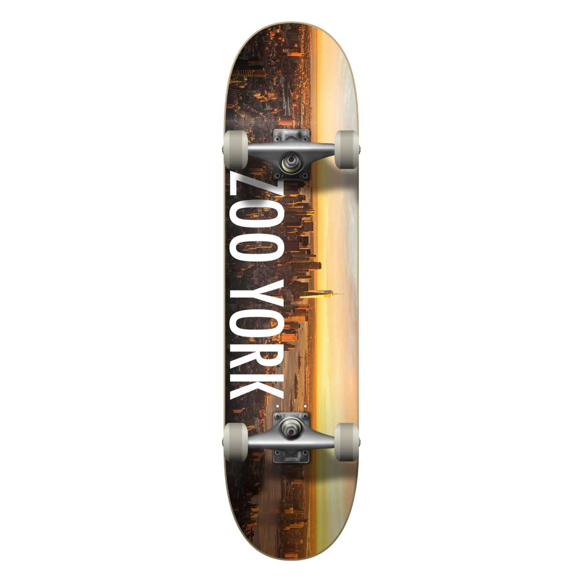 "ZOO YORK SUNRISE 8.25"" COMPLETE SKATEBOARD - MULTI"