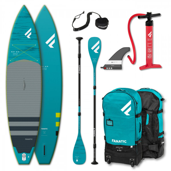 FANATIC PACKAGE RAY AIR PREMIUM/C35 SUPBOARD SET (2021)