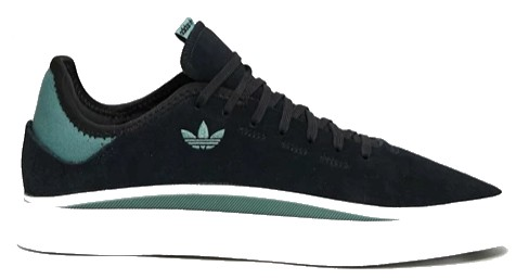 ADIDAS SABALO SCHOENEN - CORE BLACK/CLOUD WHITE/TECH EMERALD