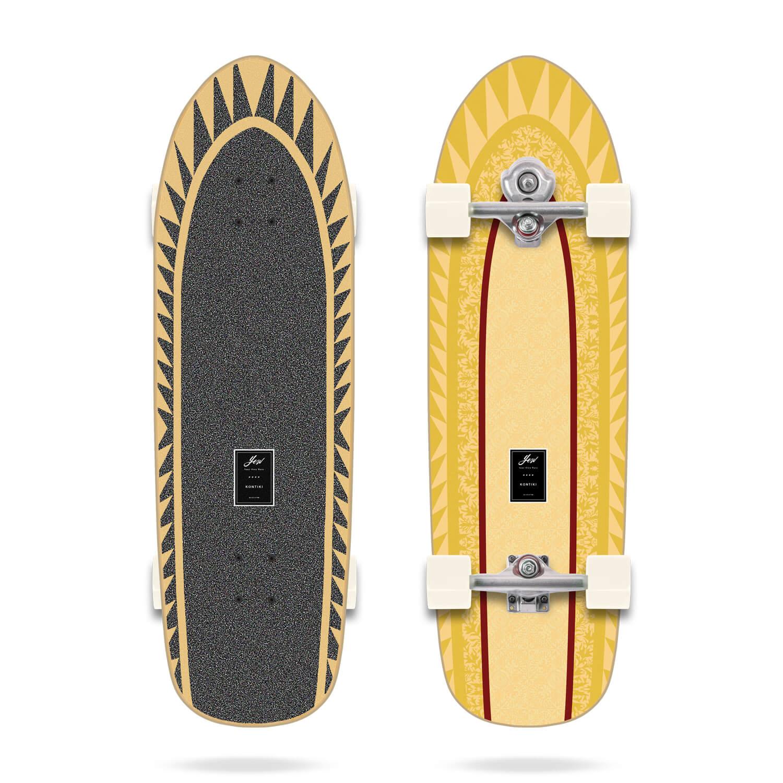 """YOW KONTIKI 34""""  SURFSKATE"""