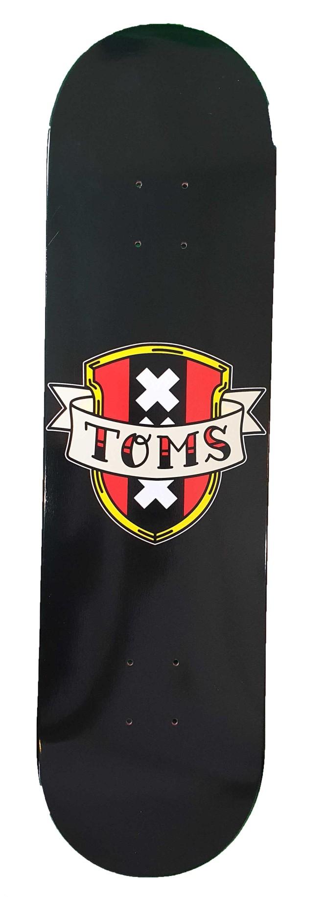 TOMS SHIELD DECK - BLACK