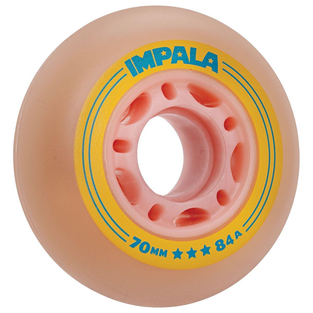 IMPALA INLINE WIELEN (4-STUKS) - PINK/YELLOW