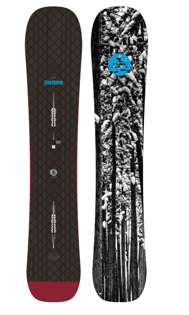 BURTON FT GATE KEEPER DIRECTIONAL CAMBER 163 - RENÉ EDITION