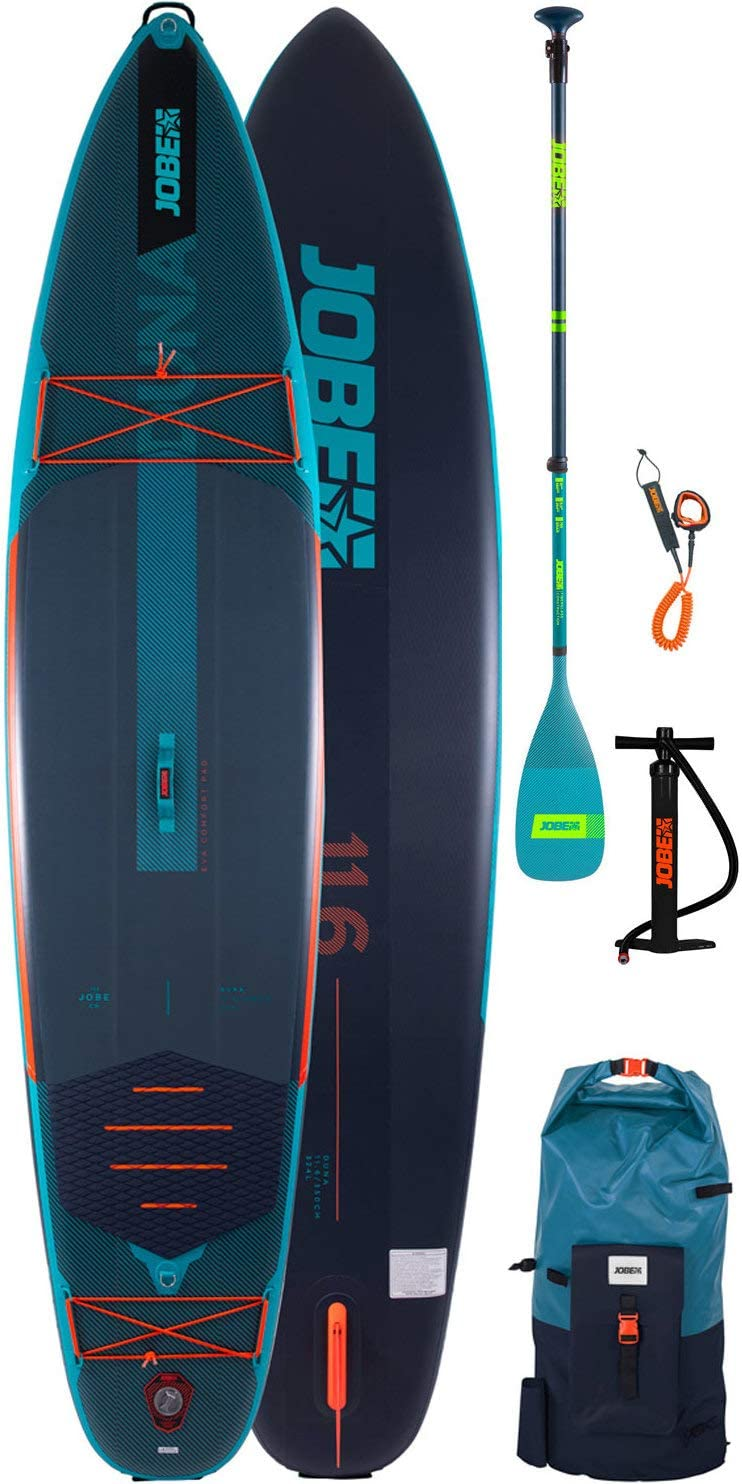 "JOBE AERO DUNA SUPBOARD 11.6"" PACKAGE FREEDOM TEAL"