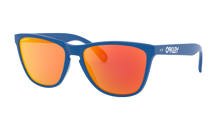 OAKLEY FROGSKINS 35TH ZONNEBRIL - PRIMARY BLUE, PRIZM RUBY