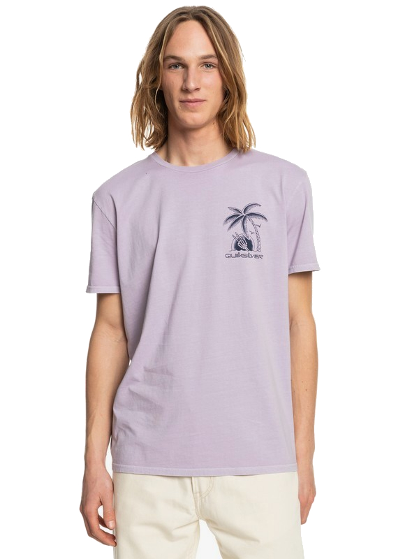 QUIKSILVER DAYS OFF SS - LAVENDER