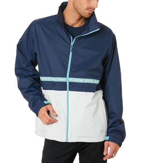 BURTON MELTER JAS - DRESS BLUE/STOUT WHITE
