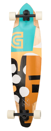 """GOLDCOAST COMPLETE LONGBOARD - THE LAIR PINTAIL 36"""""""