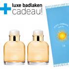 Dolce&Gabbana Light Blue Sun Pour Homme 2x 75ml + Badlaken