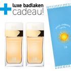 Dolce&Gabbana Light Blue Sun Pour Femme 2x 50ml + Badlaken