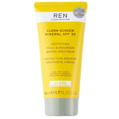 Clean Screen Mineral SPF 30 Mattifying Face Sunscreen 50ml