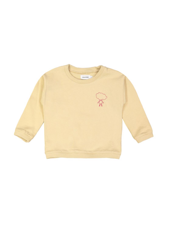 sweater cloudy girl crème