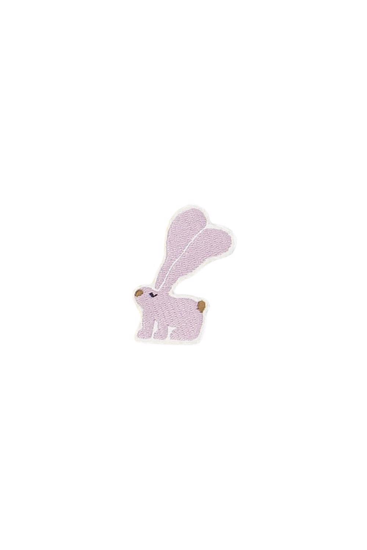 broche bunny lila