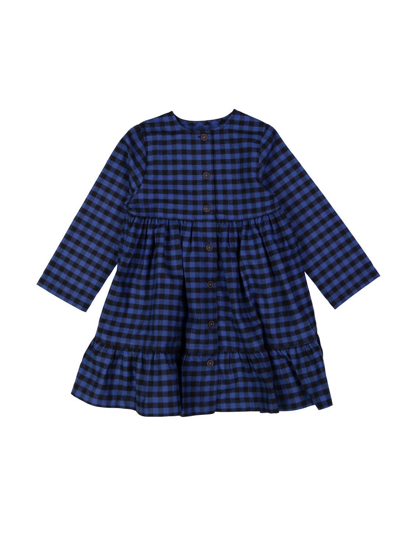 jurk caro blauw