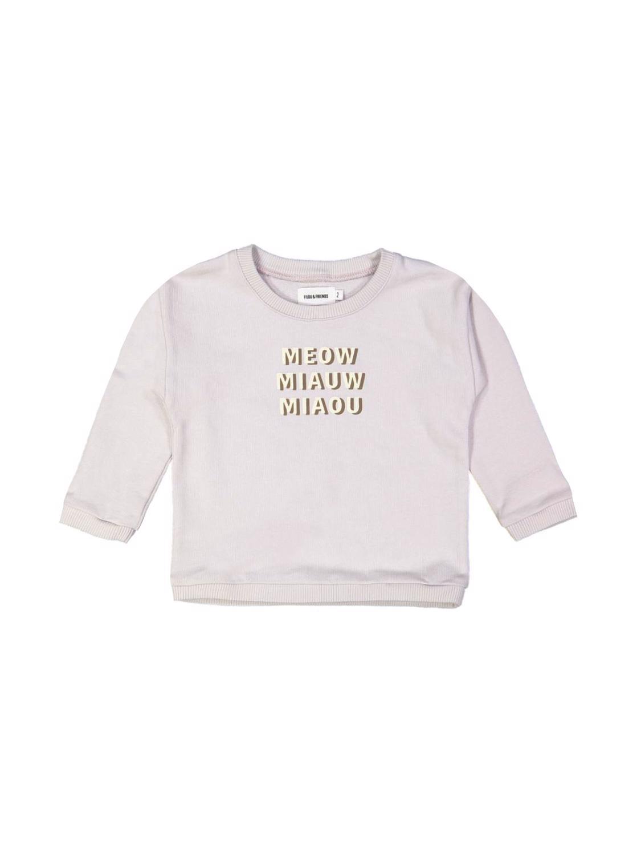 sweater meow lila