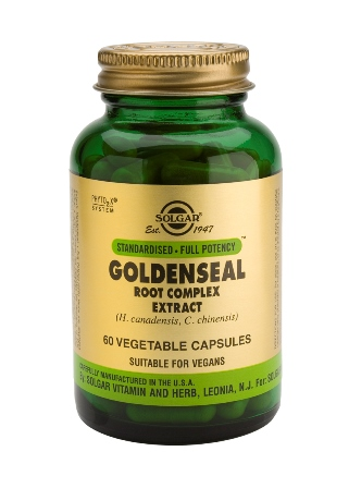 SOLGAR GOLDEN SEAL ROOT EXTR 60CAP