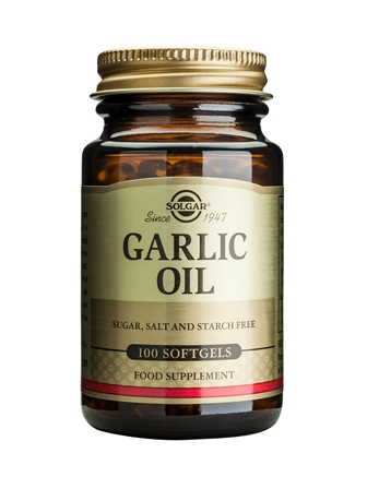 SOLGAR GARLIC OIL 100TAB