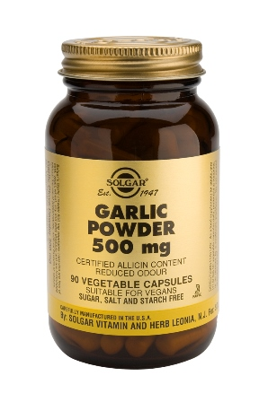SOLGAR GARLIC POWDER 500 MG 90 VEG CAPS