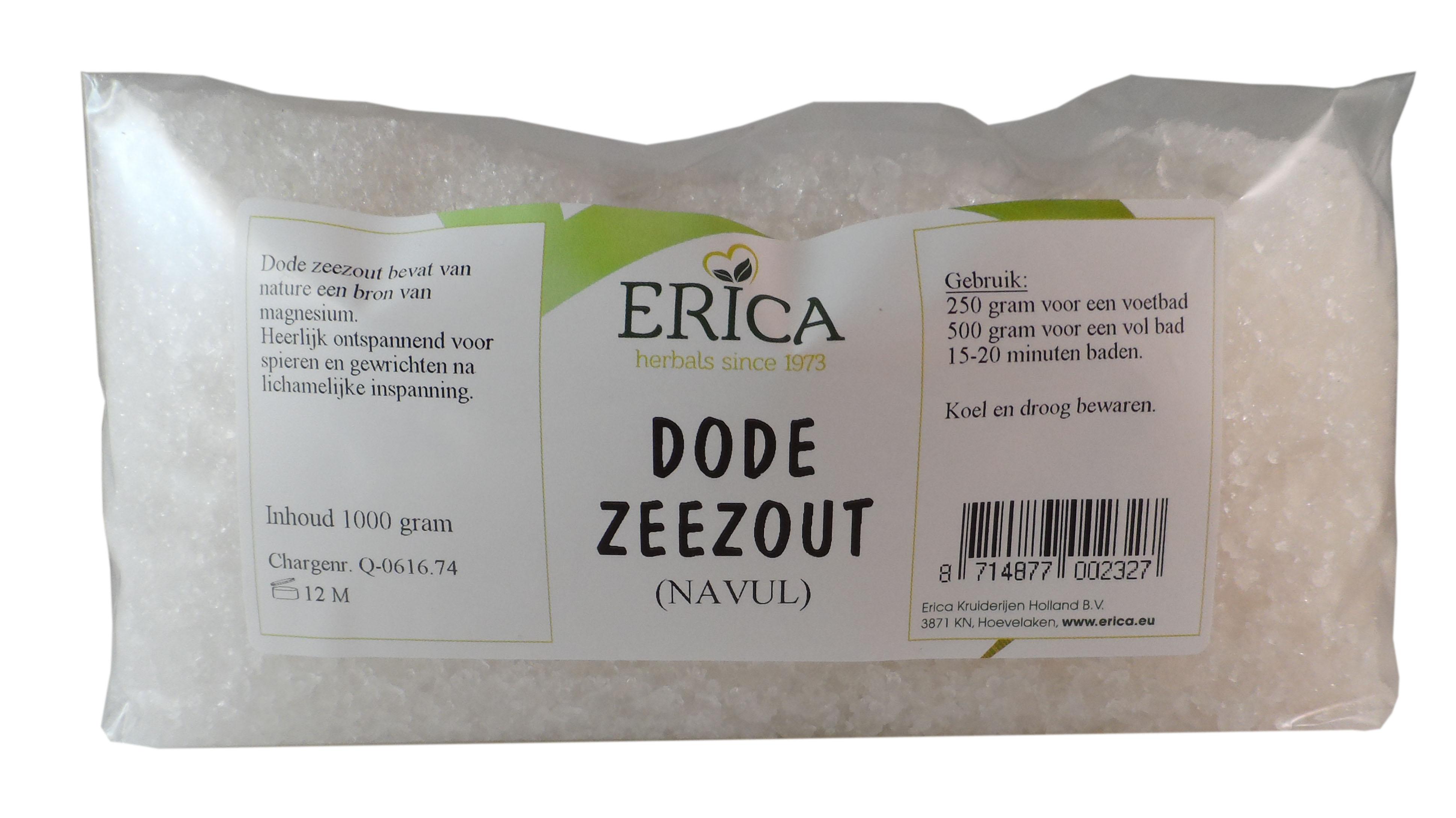 DODE ZEEZOUT NAVUL ZAK (ERICA) 1000 G