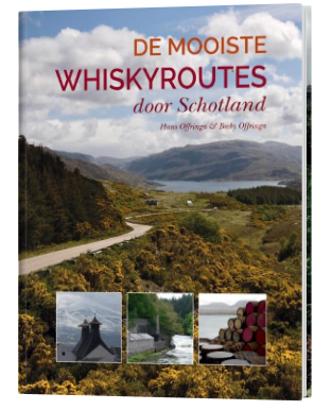 Boek De mooiste whiskyroutes door Schotland