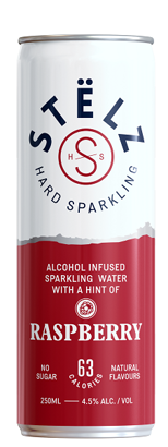 Stëlz Hard Sparkling Raspberry