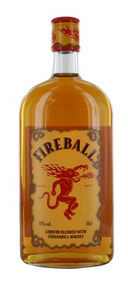 Fireball Cinnamon Whiskylikeur