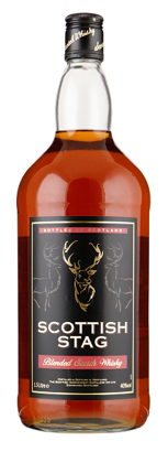 Scottish stag Blended Scotch Whisky