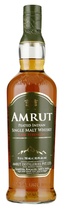 Amrut Cask Strenght Peated Indian Single Malt