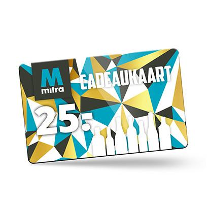 Mitra Cadeaukaart € 25