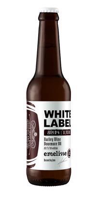 Emelisse White label barley wine BA NO4