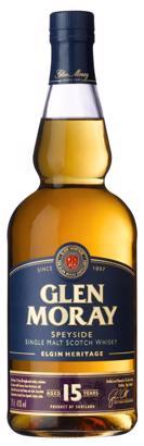 Glen Moray 15 Yrs Single Malt