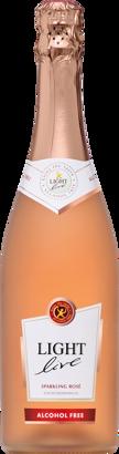 Light Live Rosé Sparkling 0,0%