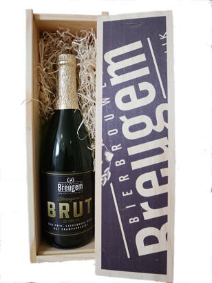 Brouwerij Breugem Brut in houten kist