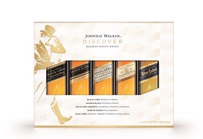 Johnnie Walker 5 Pack