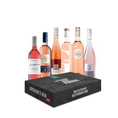 Xperience Box 6 x Favoriete Rosé Wijn