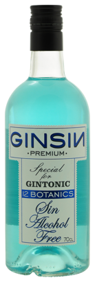 GinSin 12 Botanicals Gin smaak alcoholvrij