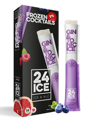24 ICE Gin Tonic ijs doos 5 stuks